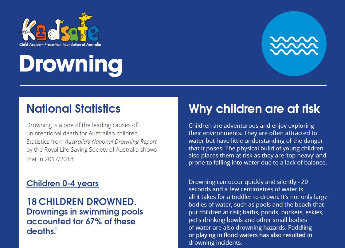Swimming Pool and Water Safety | kidsafe Australia